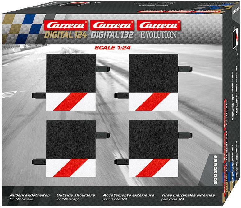Carrera EVO / DIGITAL 132 / 124 - Poszerzenie torów 1/4 proste 20589