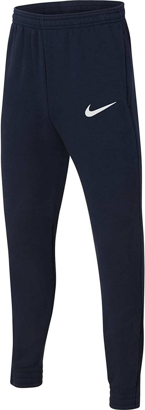Nike Spodnie dresowe dla chłopców Park 20 Obsydian/biały/biały M