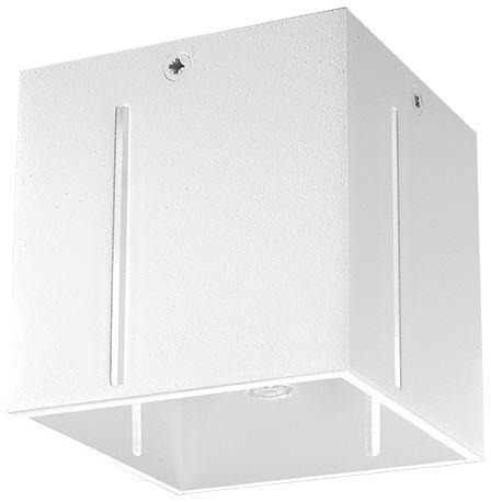 Biały kwadratowy plafon kostka - EX511-Pixan