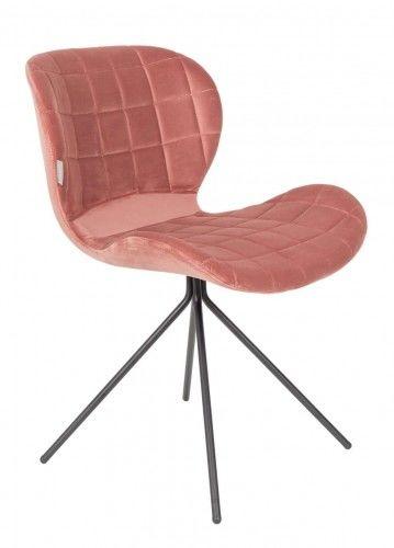 Krzesło OMG velvet Zuiver