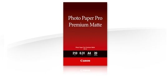 Canon FA-PM1 Photo paper premium mat, papier fotograficzny, matowy, biały, A4, 210 g/m2, 20 szt., drukowanie atramentowe