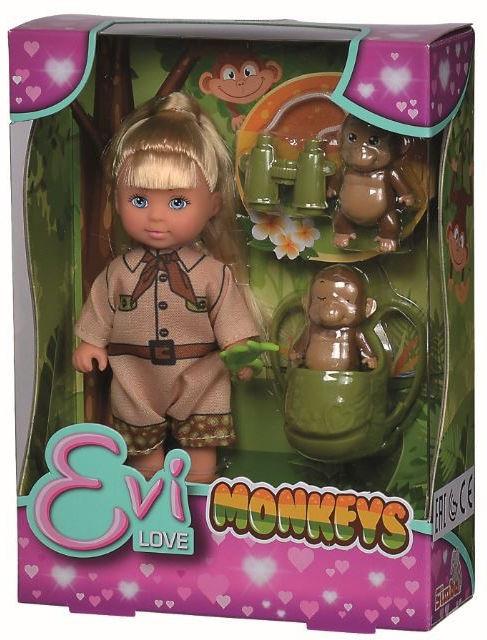 Lalka Evi z małpkami Simba (105733481)