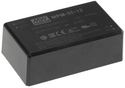 MPM-65-48 zasilacz medyczny 65W 48V 1.36A