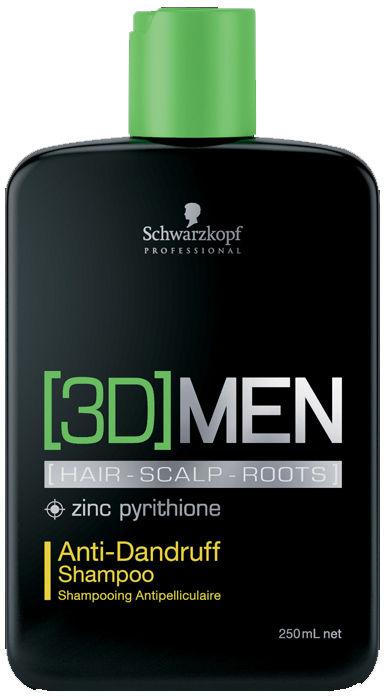Szampon przeciwłupieżowy Schwarzkopf 3Dmen 250ml