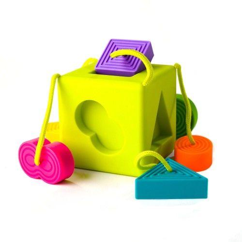 Sorter kostka OombeeCube Fat Brain Toys