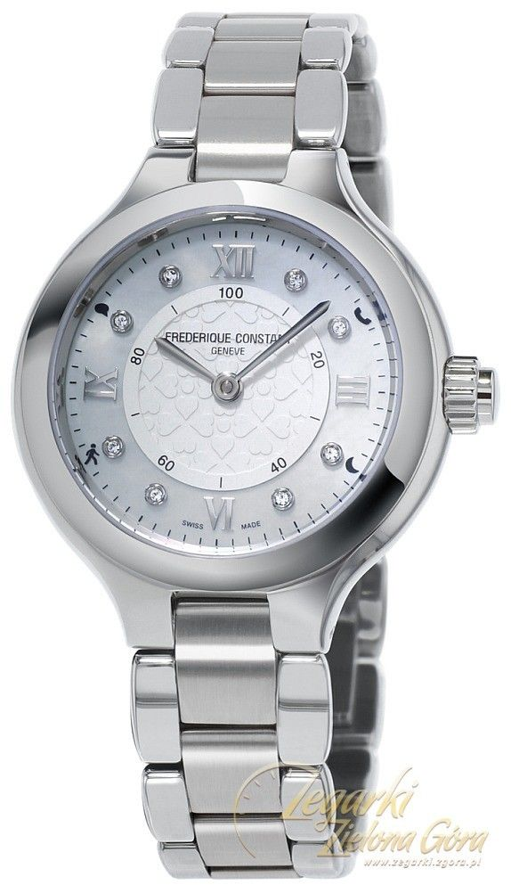 Zegarek damski Frederique Constant Horological Smartwatch Bluetooth FC-281WHD3ER6B