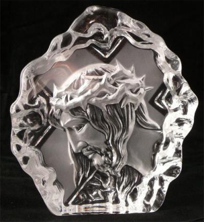 Kryształowa bryła Jezus