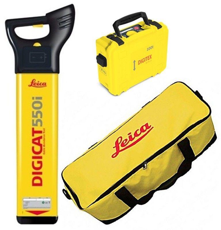 Zestaw Leica DigiCAT 550i + Leica DigiTEX 100t + torba