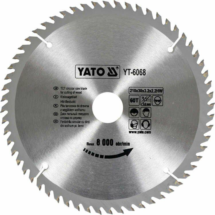 TARCZA WIDIOWA 210X60X30 MM Yato YT-6068 - ZYSKAJ RABAT 30 ZŁ