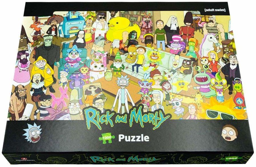 Rick and Morty 1000 sztuk puzzli
