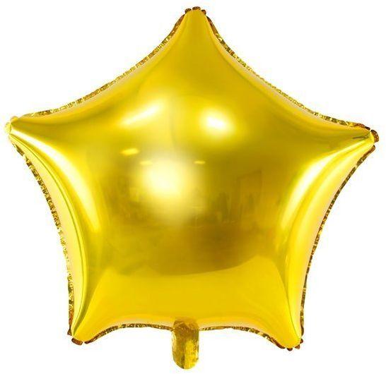 Balon foliowy Gwiazdka 70cm złota FB78M-019