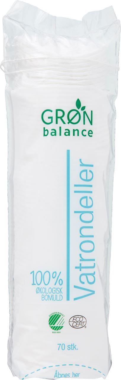 Płatki kosmetyczne 70 szt - gron balance