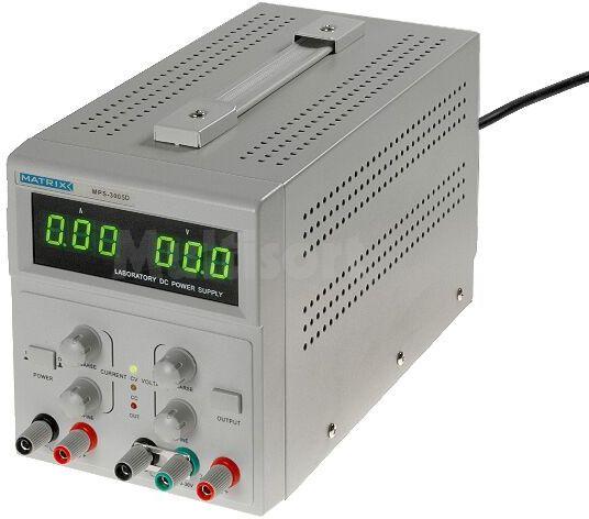 Zasilacz laboratoryjny z funkcją stand-by Kanały:2 0-30V 5A i 5V 1A