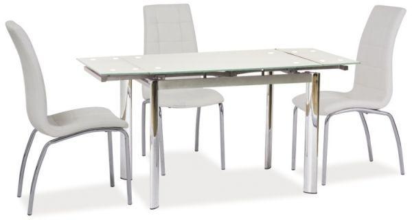 Stół GD-019 100(150)x70 biały rozkładany