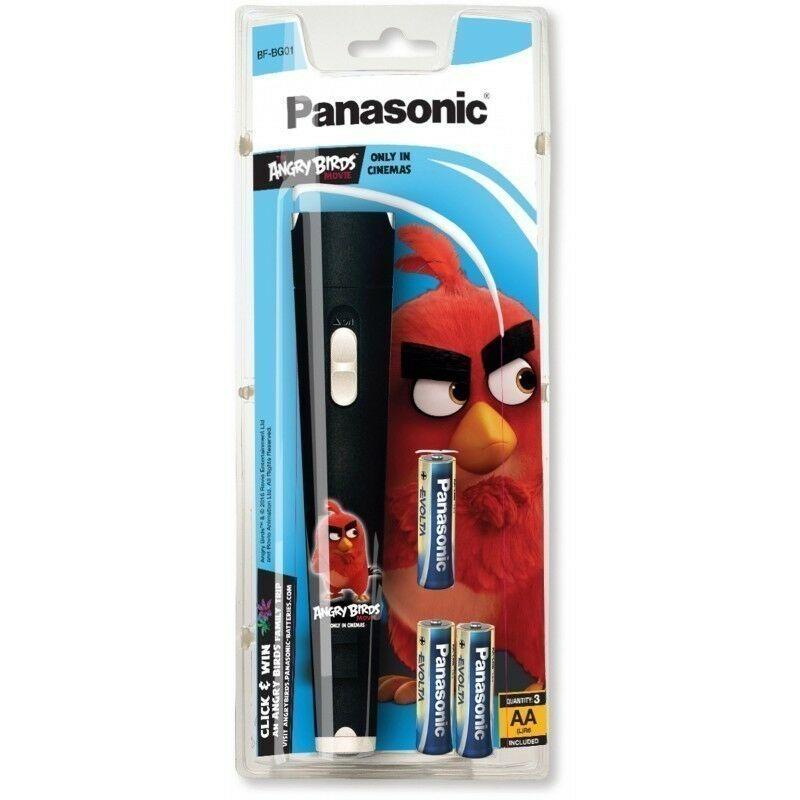 Panasonic BF-BG01 Angry Birds Latarka LED