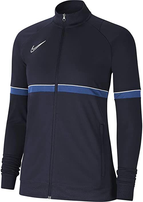 Nike Damska kurtka damska Academy 21 Track Jacket Obsidian/biały/królewski niebieski/biały S