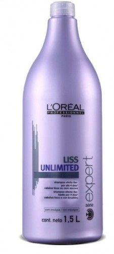 Loreal Liss Unlimited szampon wygładzający do włosów niezdyscyplinowanych 1500 ml