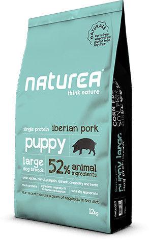 Naturea Puppy large breed Iberian pork 12kg