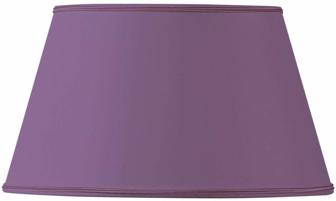 Klosz lampy do półwałów, 30 x 21 x 17 cm, fioletowy
