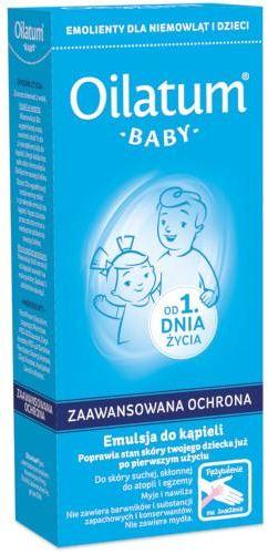 Oilatum Baby emulsja do kąpieli dla dzieci od urodzenia 500 ml
