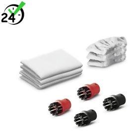 Zestaw ściereczek (6szt) i szczotek (4szt) do SC, SI, Zestaw uniwersalnych akcesoriów, Karcher
