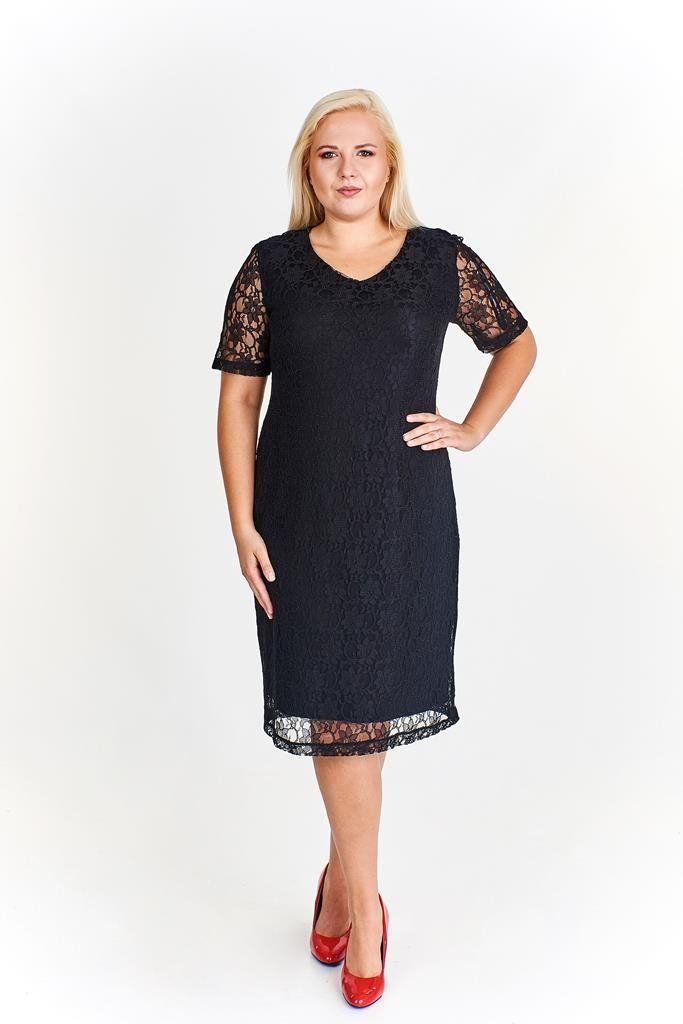 Sukienki Sukienka Suknie FSU776 GRANATOWY