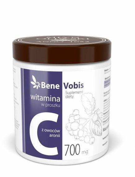 Bene Vobis - Witamina C w 100% z owoców aronii - 500g