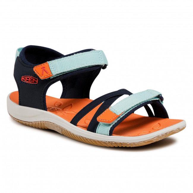 Sandały KEEN - Verano 1024830 Black Iris/Blue Tint