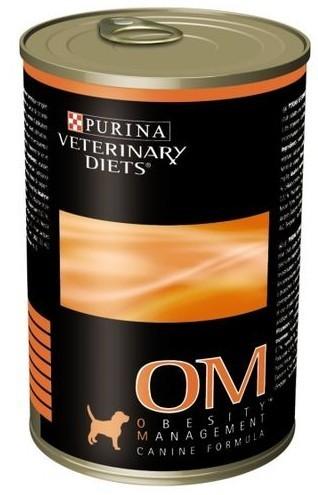 Purina Veterinary OM (obesity management formula)puszka 400 g Canine