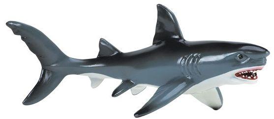 Safari Ltd 275029 Żarłacz biały - rekin 18 x 7,5cm