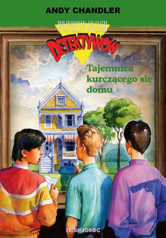 Przygody Trzech Detektywów 17 Tajemnica kurczącego się domu ZAKŁADKA DO KSIĄŻEK GRATIS DO KAŻDEGO ZAMÓWIENIA