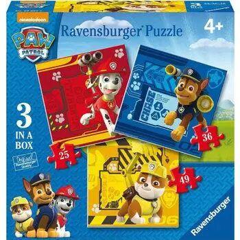 Puzzle 3w1 Psi Patrol - Ravensburger