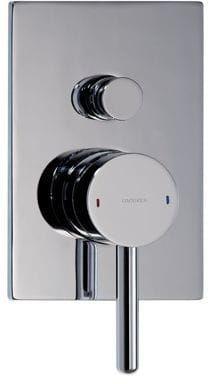 Omnires Bateria prysznicowo-wannowa podtynkowa Y, chrom Y1235/KCR