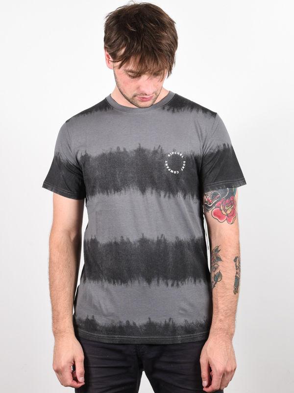 Rip Curl ACIDOULOUS black koszulka męska - S