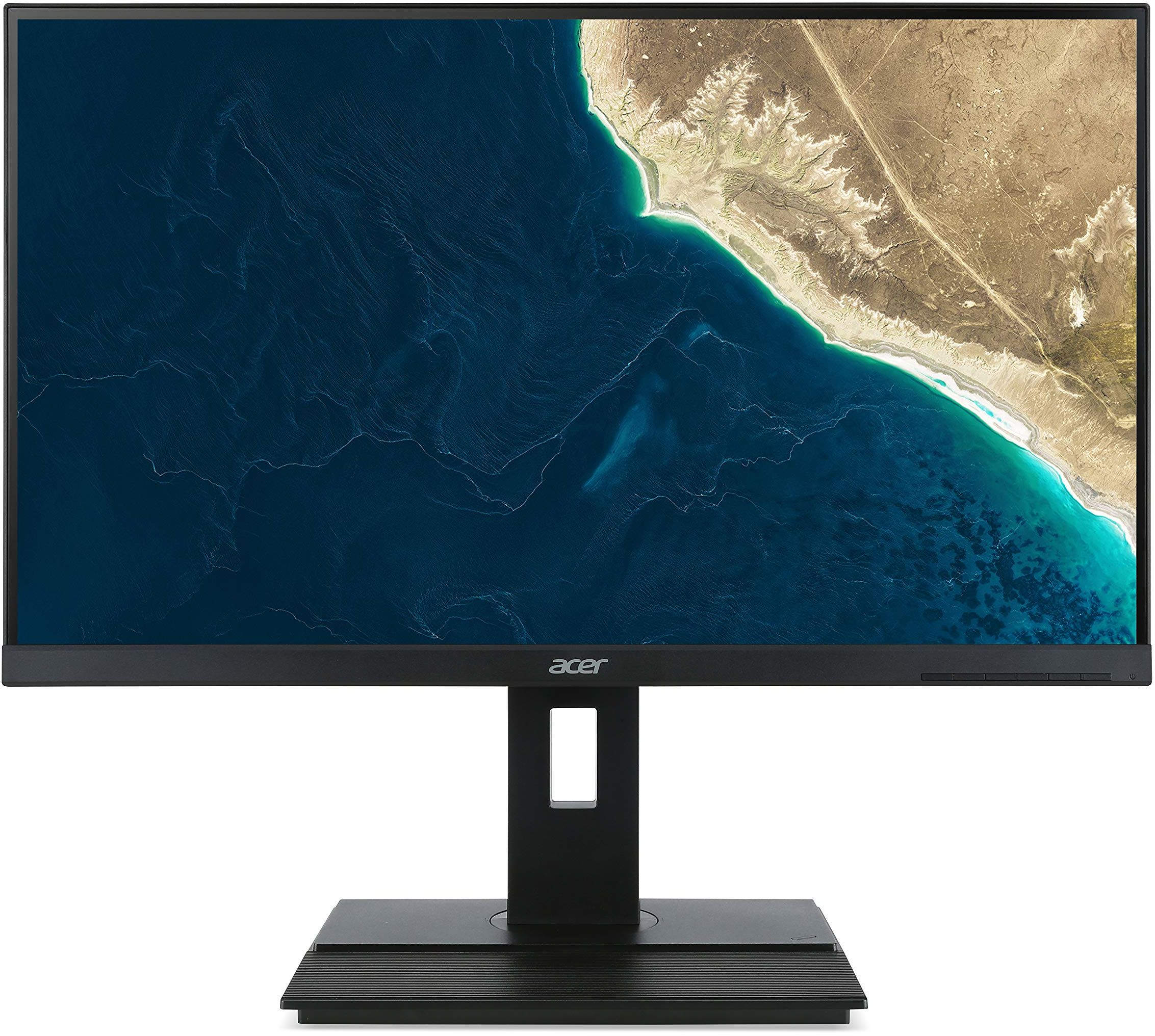 ACER B276HULEymiipruzx 68,6 cm 27 cali TFT LED DVI 2xHDMI 2.0 Mini DP USB 3.0 Hub USB3.1 typ C 100M:1 350cd/m  5ms ciemnoszary