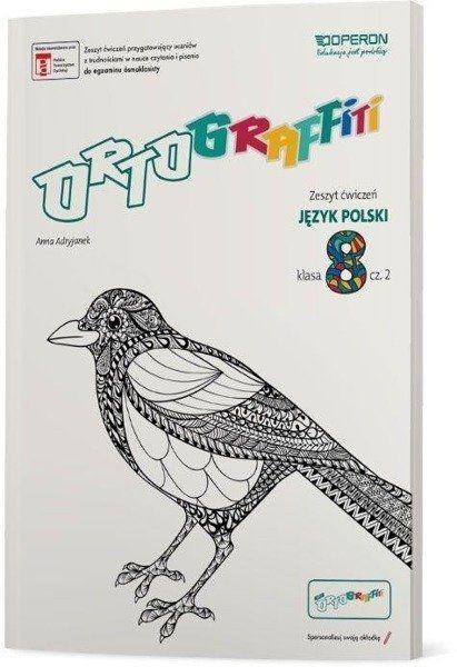 Ortograffiti SP 8 Język Polski. Zeszyt ćwiczeń 2 - Anna Adryjanek