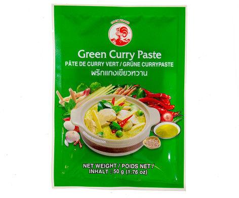Pasta curry zielona 50g Tajlandia 4 szt.