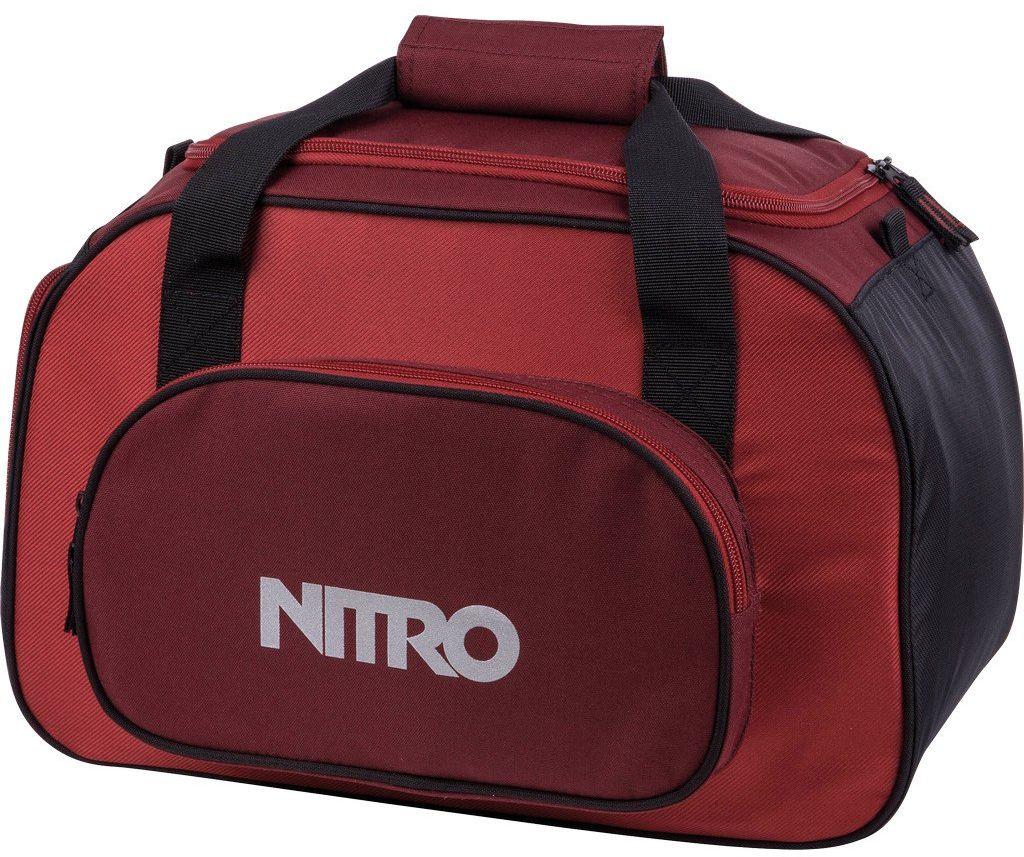 Nitro Torba sportowa Duffle Bag XS, torba sportowa, torba podróżna, weekendowa, torba fitness, 40 x 23 x 23 cm, 35 l, 1131-878019_ Chili