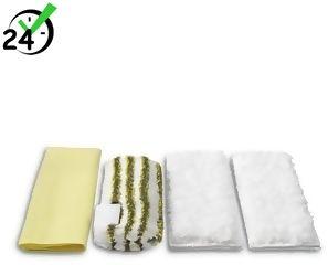 Zestaw ściereczek z mikrofibry (4szt) do łazienki do SC 1, SC 2, SC 3, Karcher