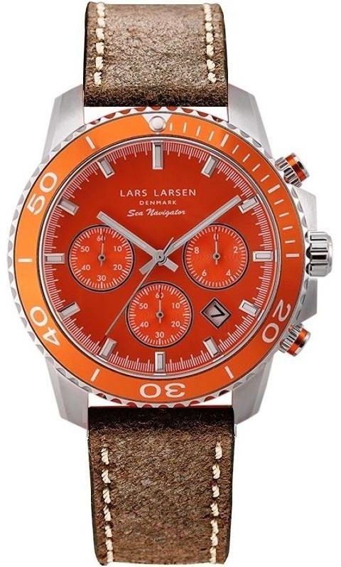 Zegarek Lars Larsen 134-Orange/Brown 100% ORYGINAŁ WYSYŁKA 0zł (DPD INPOST) GWARANCJA POLECANY ZAKUP W TYM SKLEPIE