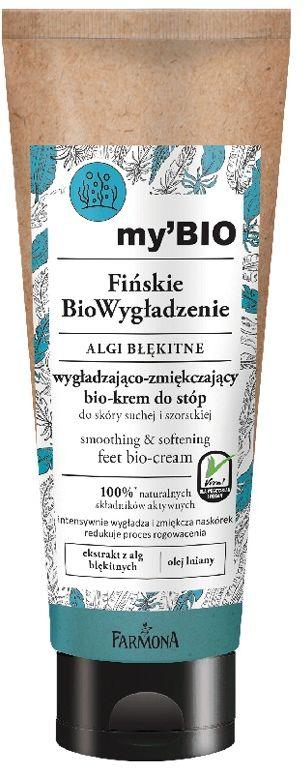 my''BIO Fińskie BioWygładzenie, ALGI BŁĘKITNE bio-krem do stóp