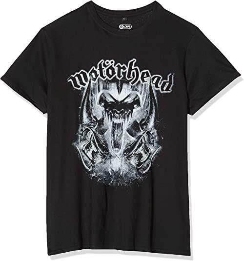 MERCHCODE męski T-shirt Motörhead Warpig czarny czarny M