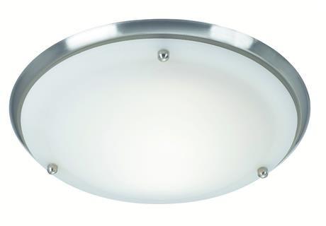 Plafon Are IP44 27.5cm 102528 Markslojd okrągła stalowa oprawa natynkowa do łazienki