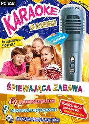 Karaoke Dla Dzieci: Śpiewająca Zabawa - z mikrofonem ZAKŁADKA DO KSIĄŻEK GRATIS DO KAŻDEGO ZAMÓWIENIA