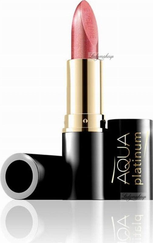 EVELINE - Aqua Platinum Lipstick - Ultra nawilżająca pomadka do ust - 415