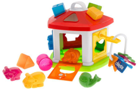 Chicco Domek Zwierząt 1-4 lata Chicco Sorter Kształtów Domek 1 rok +