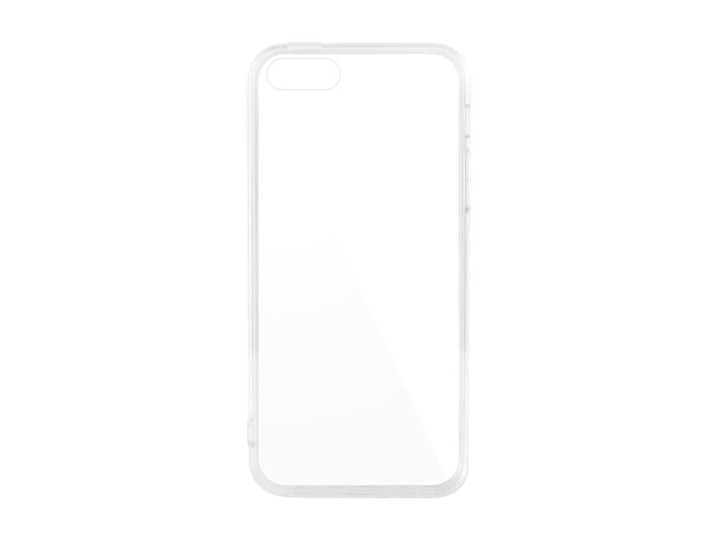 Apple iPhone 5S - etui na telefon Crystal Cover - przezroczyste