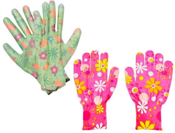 Rękawice robocze FLOWER ogrodnicze