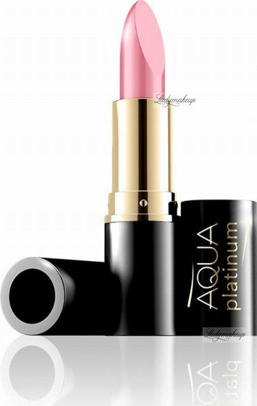 EVELINE - Aqua Platinum Lipstick - Ultra nawilżająca pomadka do ust - 476