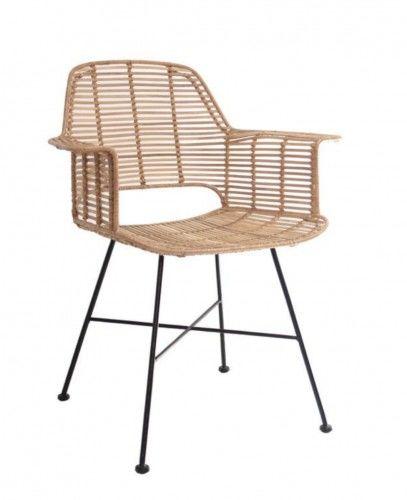 Krzesło rattanowe TUB naturalne